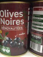 Lot revendeur déstockage De 12 Boites Olives Noirs Dénoyautées Dlc Longue