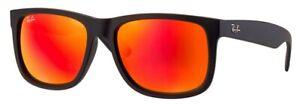 Ray-Ban Justin verspiegelt Damen/Herren Sonnenbrille RB4165 622/6Q 54mm