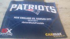 New England Patriots V. K.C. Cheifs- Sept.7,2017- Nfl Opening Night- 5X Towel