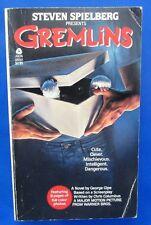 1984 GREMLINS by Steven Spielberg Paperback Avon 86561 1st VG+ 4.5