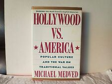 Hollywood vs America : Popular Culture & War Against Values (NEW) Michael Medved