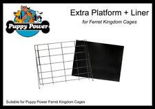 FERRET & RAT KINGDOM - EXTRA PLATFORM (INCLUDING PLASTIC LINER) 60 X 48 CM