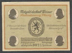 Notgeld Stadt Weimar(25 Pf.)