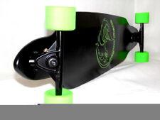Longboard Holz Cruiser Skateboard, Komplettboard Holzboard schwarz grün NEU