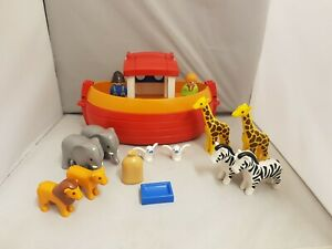 Playmobil 123 Noahs Ark Set With Animals And Figures