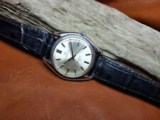 RARE USED VINTAGE ETERNA-MATIC KONTIKI 20 SILVER DIAL AUTOMATIC MAN'S WATCH