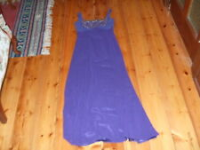 Studibaker Long Dress Size 8 Purple 100% Polyester in Excellent Condition