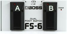 NEW - Boss FS-6 Dual Footswitch