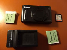 Canon PowerShot SX610 HS 20.2MP Digital Camera - Black - Used