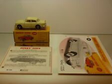 DINKY TOYS ATLAS 184 VOLVO 122S - AMAZONE - LIGHT YELLOW 1:43 - EXCELLENT IN BOX
