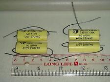 4 PIECES ELECTROCUBE 935B 1uF 400V +/-10% METALLIZED POLYPROPYLENE CAPACITOR