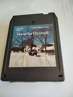 TESTED SOUND VG++ HOME FOR CHRISTMAS  VOL. 2 LABELS VG 8 TRACK TAPE VARIOUS