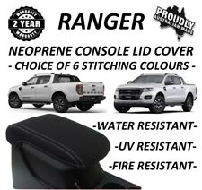 FORD RANGER PX NEOPRENE CONSOLE LID COVER(WETSUIT MATERIAL)SUIT PX 1- PX 2 - PX3