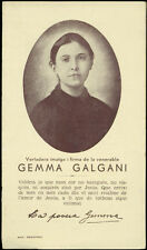 "santino-holy card""S.GEMMA GALGANI 17"