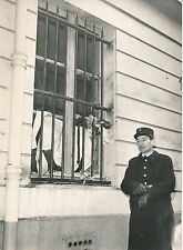 PARIS 1956 - Agent de Police Explosion de Gaz Loge Rue Mondovi - PR 586