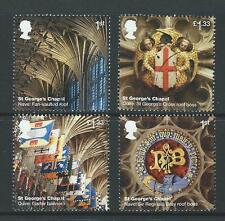 GREAT BRITAIN 2017 WINDSOR CASTLE SET 4 EX MINIATURE SHEET FINE USED