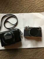 Vintage Yashica Electro 35 Camera with 1:1.7 Lens & Case