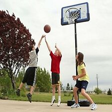 Lifetime 44 Inch  Portable Adjustable Height Hoop Basketball System 1221