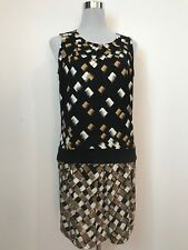 DIANE VON FURSTENBERG FLAPPER STYLE SILK DRESS SIZE US 6 OR AU 8-10