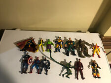 Marvel Legends Toy Biz X-men Action Figures Wolverine Dr Strange 13