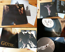 "PARADISE LOST ""GOTHIC""- Gatefold LP- Peceville 1991- original writings on matrix"