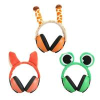 Child Baby Ear Muff Hearing Protection Kids Noise Cancelling Cartoon Headphones