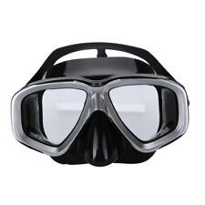 Anti-Fog Scuba Snorkeling Mask Wide View Tempered Glass Lens Anti-Leak Snorkel