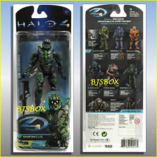 "Mcfarlane HALO 4 Spartan CIO Green 6"" Action Figure Exclusive Game Content New"