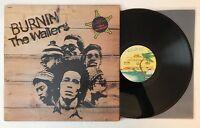 Bob Marley & The Wailers - Burnin' - Early US Press Album ILPS 9256 (EX)