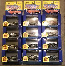 Johnny Lightning HO THUNDERJET PULL BACK CARS GOLD COLLECTORS EDITION FULL SET