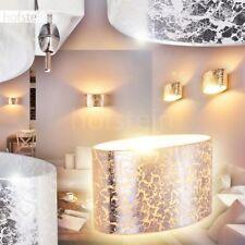 silberfarbene Glas Wand Leuchten Schalter Wohn Schlaf Raum Lampen Flur Up Down