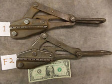 """(2) Klein Tools 1611-30 Wire Rope Cable .31 -.53"""" size Puller 4500 lb Capacity"""