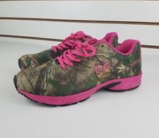 RealTree Girl Shoes Cobra jr. Womens Camo Camouflage & Pink Size 6