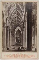 Italia Foto Di Dopo Incisione Cattedrale PL17c1n6 Cartolina Armadio Vintage