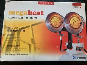 MegaHeat 30,000 BTU Portable Radiant Propane Tank Top Heater