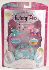 Twisty Petz Bead Jewelry Toy Glitzy Panda, Fuzzy Fluffles Bunny and Mystery Pet