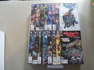 2011-2014 Batman: The Dark Knight COMPLETE RUN of 31 Comics (0-29/Annual #1) NM!