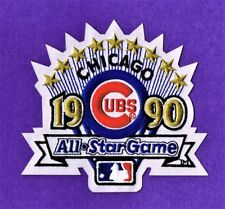 1990 MLB All Star Game AUTHENTIC at Chicago Cubs MLB Baseball Patch