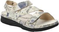 $150 Drew Shoes Womens Sandals ANGELA 11 Beige Python Diabetic Orthotic Comfort