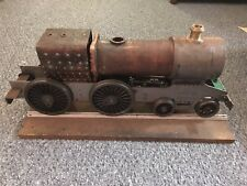 """Don Young 1975 live steam locomotive train 3.5"""" gauge. Needs finishing."""