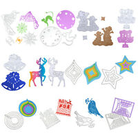 DIY Metal Cutting Dies Stencil Scrapbooking Paper Card Embossing Craft 12 Styles