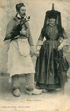 Bressan et Bressane en tenue de Folklore