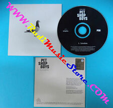 CD Singolo Pet Shop Boys London CDRDJ 6589 EU 2002 PROMO CARDSLEEVE(S28)