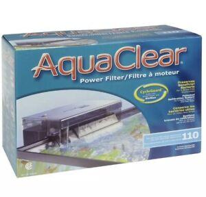 Aquaclear 110 Power Filter W/ Media For 60-110 Gallon Aquariums