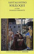 Soliloqui. testo latino a fronte (agostino (sant')) | Mondadori