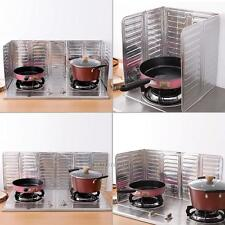 Aluminum Foil Kitchen Cooking Frying Pan Oil Splash Anti Splatter Shield Guard