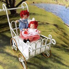 """Dollhouse Miniature Porcelain Dollhouse Doll Ethel Hicks """"Raggedy Ann & Andy"""""""