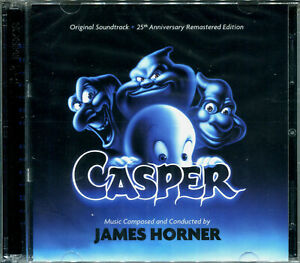 James Horner CASPER 2xCD 25th Anniversary LIMITED EDITION Remastered SOUNDTRACK