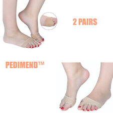 Pedimend™ 2 Pairs Gel Foot Cushion Pad Insole Sesamoiditis Mortons Neuroma Pain