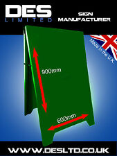 Metal Steel Advertising Sign, A Board Sign, Pavement Sign Board, Made in England